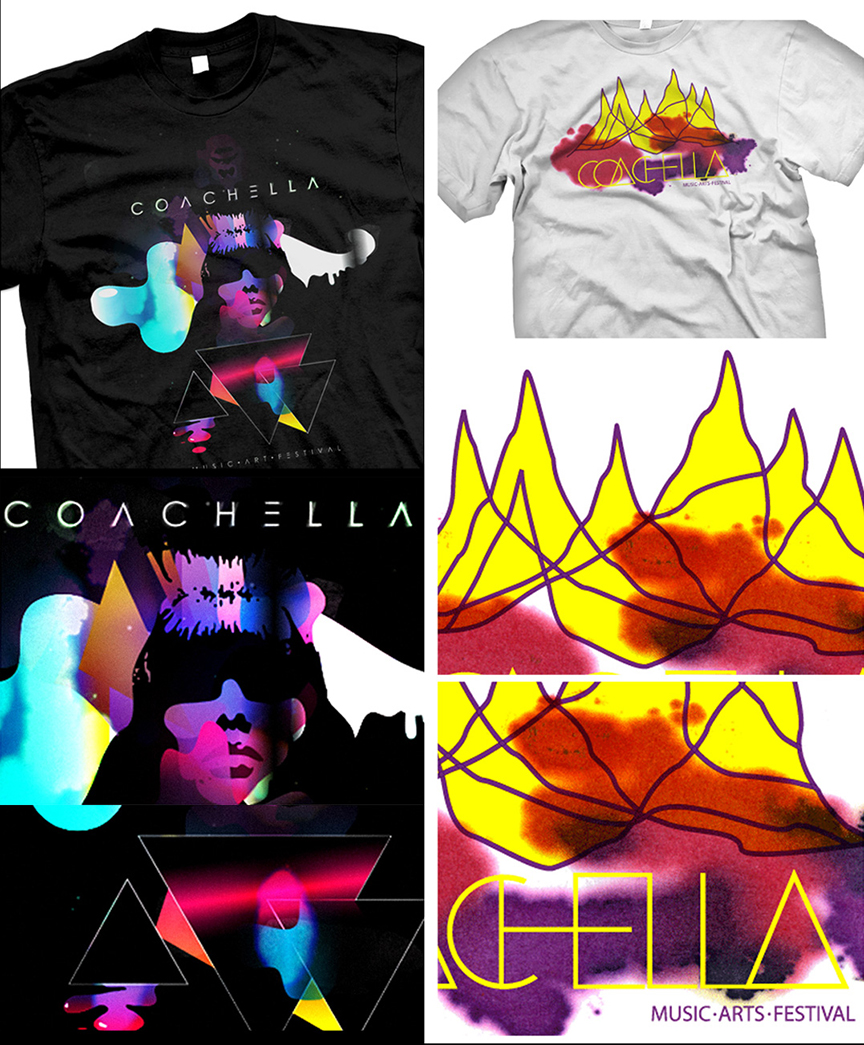 Coachella - Concept art for Coachella